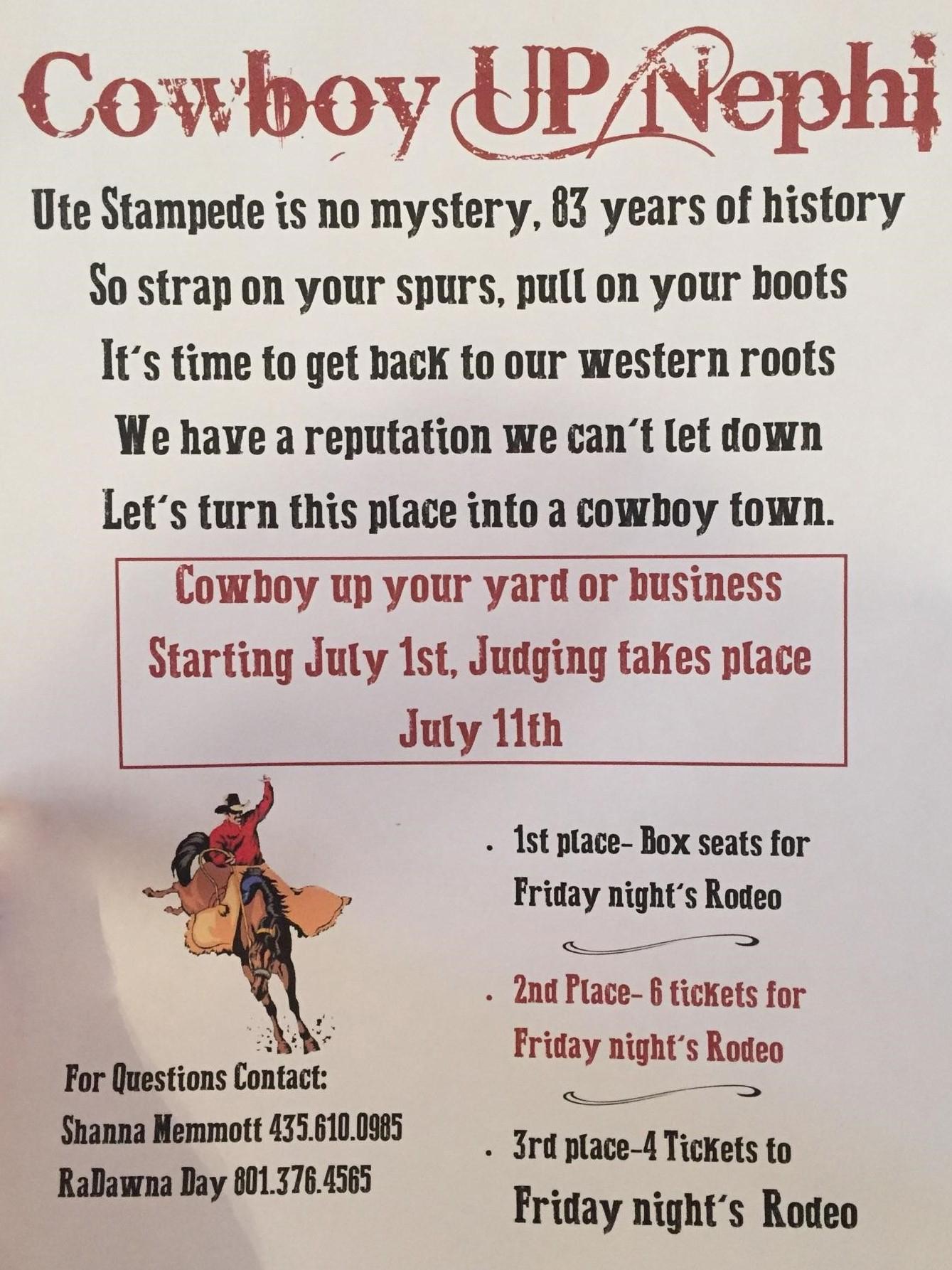 Cowboy Town Ute Stampede Rodeo