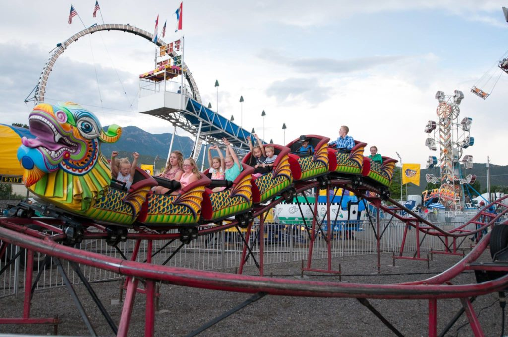 Carnival at Ute Stampede Rodeo